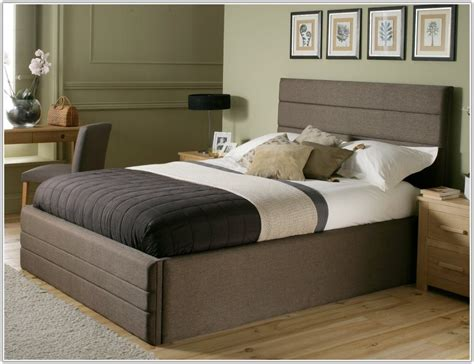 Cheap Bed Frames And Headboards by 40 Cheap King Size Storage Beds 4 Drawers Leather Storage