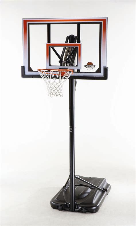 lifetime xl base portable basketball system