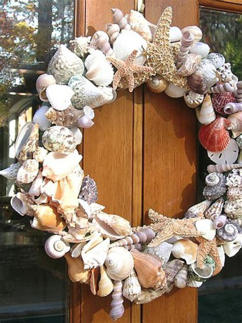 shell wreath hgtv