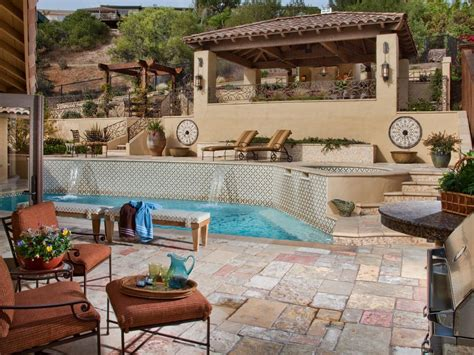 bathroom remodel ideas small space tips for designing a pool deck or patio hgtv