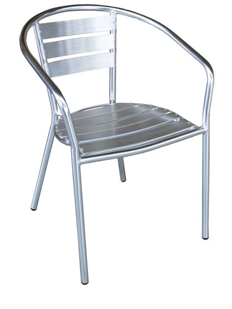 chaise aluminium exterieur z alu chaise empilable en aluminium pour extérieur sediarreda