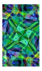 Blue Colorful Colors Green Pattern Shapes HD Abstract ...