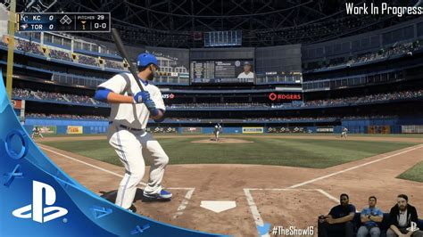 mlb the show 16 gameplay improvements twitch recap ps4 ps3