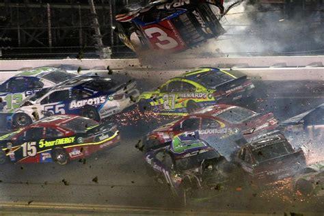 horrifying airborne crash  daytona nascar race