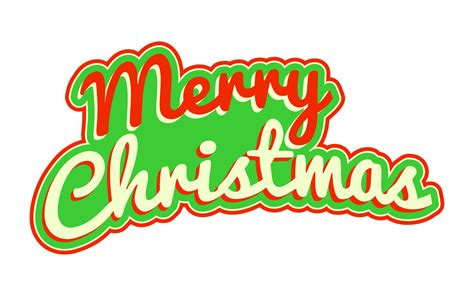 merry christmas text art vector merry christmas text font graphic download free vector art stock graphics images