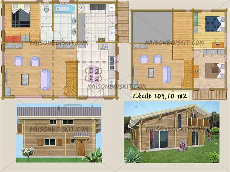 maison en bois pas cher en kit catalogue en ligne de mod 232 les de maisons individuelles