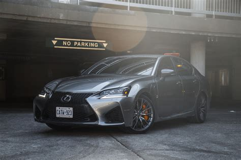 lexus gsf silver 2017 凌志 gs f canadian auto review
