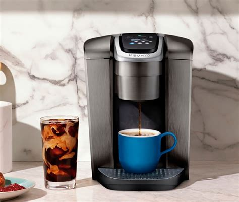 With a striking brushed finish and metal details, it's a stylish addition to any kitchen. Keurig - K-Elite Single Serve K-Cup Pod Coffee Maker - Brushed Silver | Okinus Online Shop