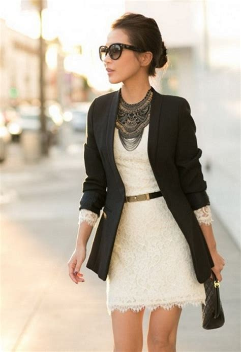 slim dress black 8 fashionable business to make you look and