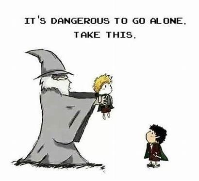 Lord Take Sam Frodo Zelda Gandalf Rings
