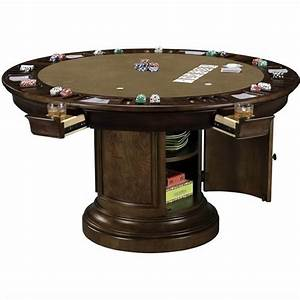 Ithaca Round Game Table - 699012