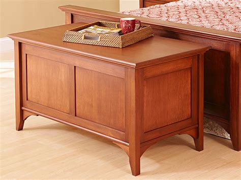 traditional blanket chest woodworking plan  wood magazine