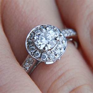 what is a halo ring jewelry wise With what kind of wedding band goes with a halo ring