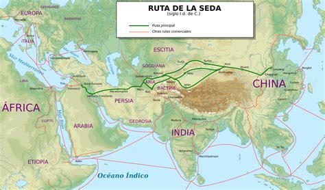 Cuantos Eran Los Barcos De Cristobal Colon by Ruta De La Seda Wikipedia La Enciclopedia Libre