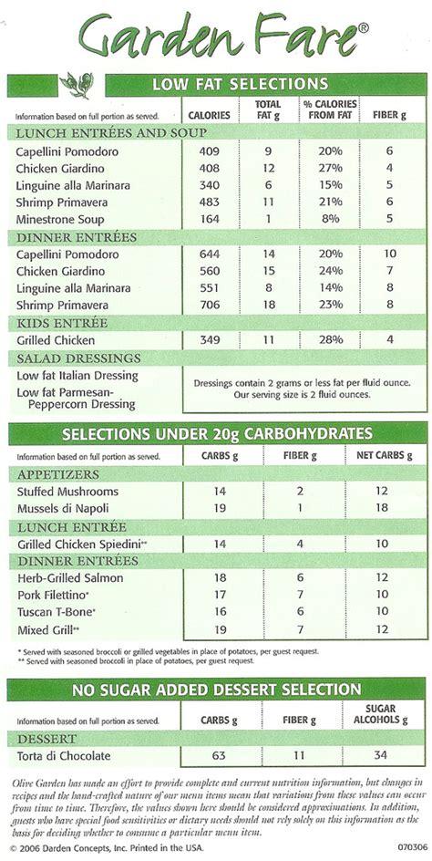 olive garden calories olive garden nutrition markus ansara