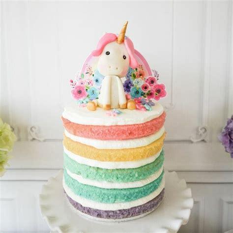 einhorn deko torte 1001 ideen f 252 r einzigartige einhorn kuchen und torten
