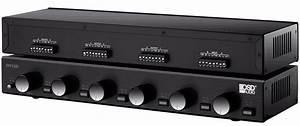 Ssvc6 Pair Speaker Selector Volume Control Single Source