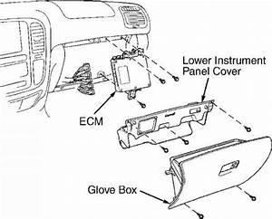 Ecm Cover - Toyota Sequoia 2001 Repair