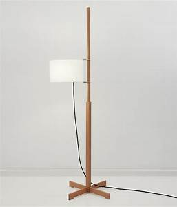 tmm floor lamp general lighting from santa cole With cole brass floor lamp