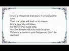 Elkie Brooks - Stairway to Heaven Lyrics - YouTube