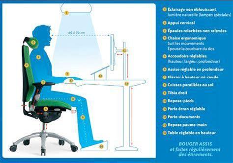 poste de travail bureau aménagement poste de travail informatique ergotherapie fr