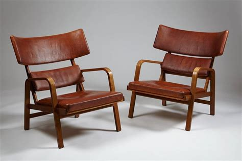 Armchairs Designed By Magnus Stephensen, Denmark, 1963 For