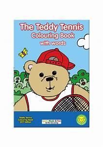 The Teddy Tennis Colouring Book | Teddy Tennis United Kingdom