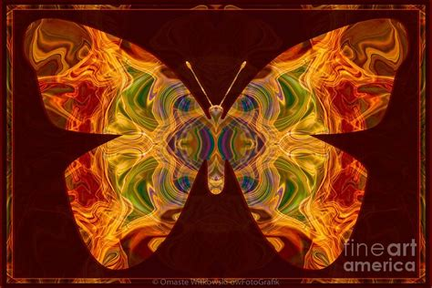 spiritual transformation abstract butterfly artwork digital by omaste witkowski