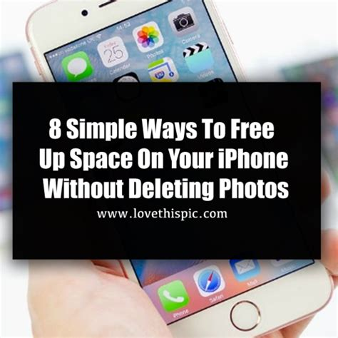 how to free up space on my phone 8 simple ways to free up space on your iphone without