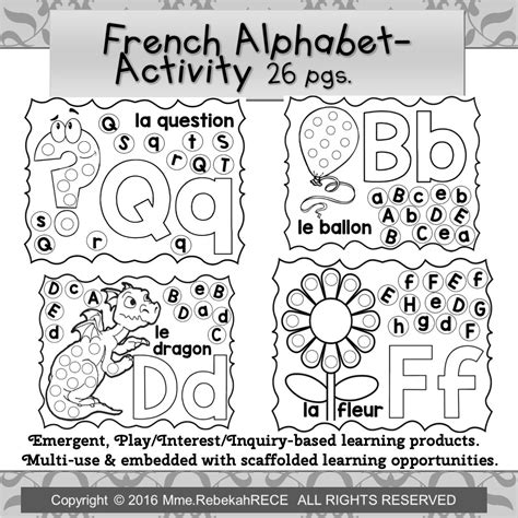 Kindergarten French Worksheets Free Printables – Learning ...