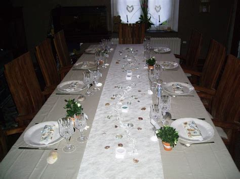 decoration de table de communion