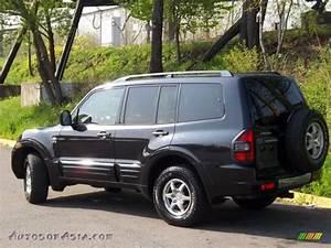 2001 Mitsubishi Montero Xls 4x4 In Solano Black Pearl
