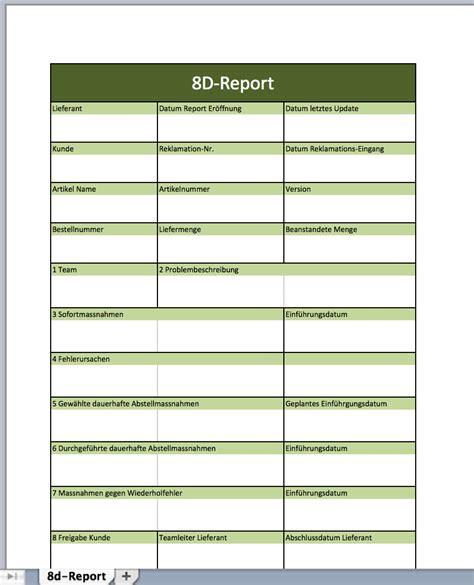 report mit einer excel vorlage excel vorlagen fuer