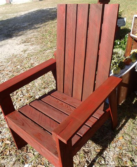 ana white simple outdoor chair  book plan diy projects