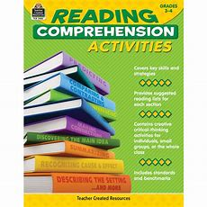 Reading Comprehension Activities Grade 34  Tcr2980  Teacher Created Resources