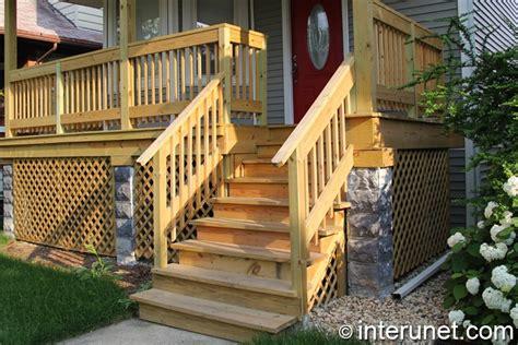 wood porch railing porch ideas designs styles interunet