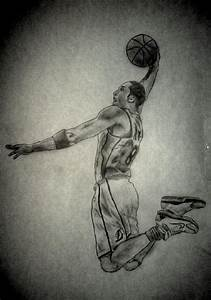Kobe Bryant Dunk Pencil By Afroafrican On Deviantart
