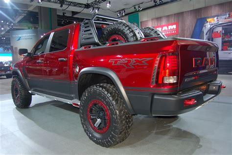 concept work truck ram rebel trx concept 2016 l a auto show trucks and