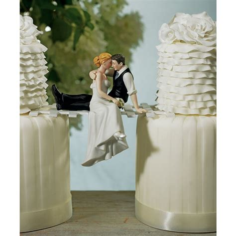 Look Of Love Couple Romantic Wedding Cake Topper