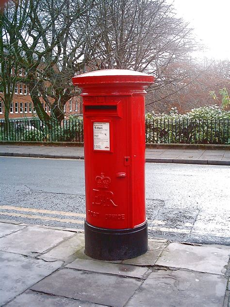 post box mail box winckley square side elizabeth