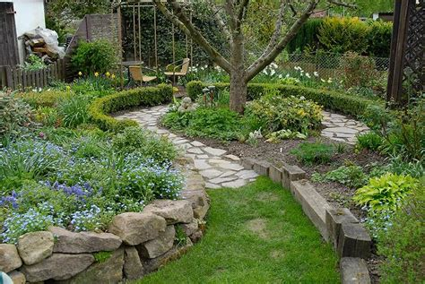 reihenhausgarten ohne rasen gartengestaltung ohne rasen bilder neu angelegter