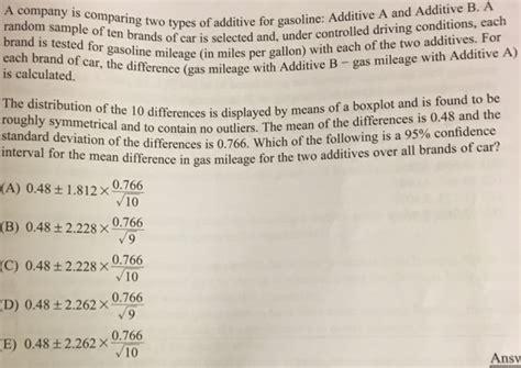 Additive A And Additive B