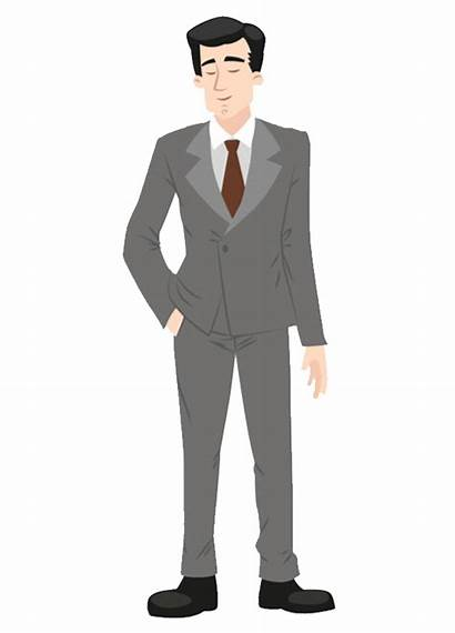 Suit Clipart Formal Guy Transparent Background Male
