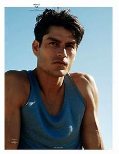 Tyson Ballou Hits The Road For Vogue Hommes International