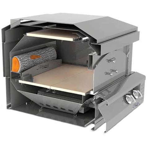 alfresco  built  gas outdoor pizza oven axe pza bi