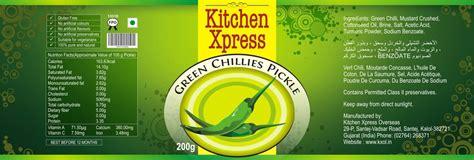 Kitchen Xpress Pickle Label By Mehtanik On Deviantart