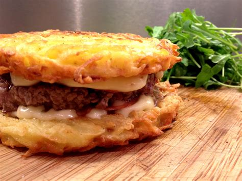 cuisiner des pommes de terre les enfants vont adorer ces hamburgers aux galettes de