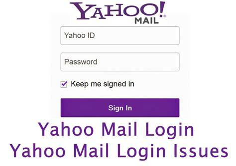 Yahoo Mail Login - Yahoo Mail Login Issues   www.yahoomail ...