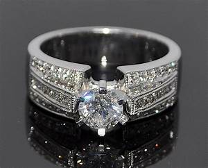 best wide band diamond wedding and engagement rings With wide band wedding rings
