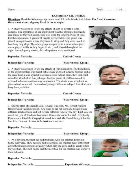 Experimental Design Worksheet Worksheets Tataiza Free Printable Worksheets And Activities